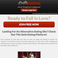 Here Are 10 Amazing Goth Cam Sites Online | SexSearch
