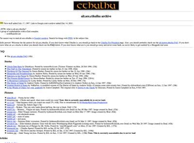cthulhu.org