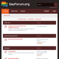 List Of The Best Gay Sex Forum Sites | SexSearchCom.com